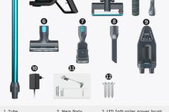 jashen v18 accessori