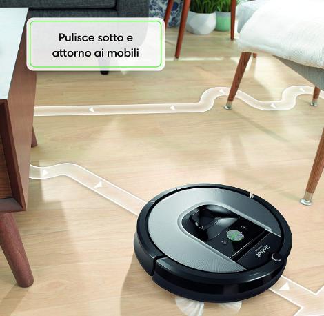 I Robot Roomba Opinioni.Recensione Robot Aspirapolvere Roomba 960