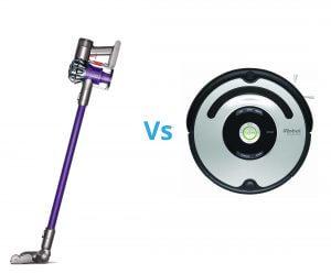 robot aspirapolvere vs senza fili