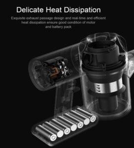 Dreame XR V10R batteria